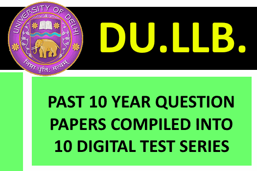 DULLB PREVIOUS YEAR QUESTION PAPER TEST SERIES