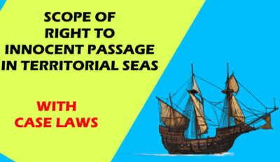 right to innocent passage in territorial sea