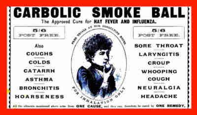 carlill vs smoke ball co case summary